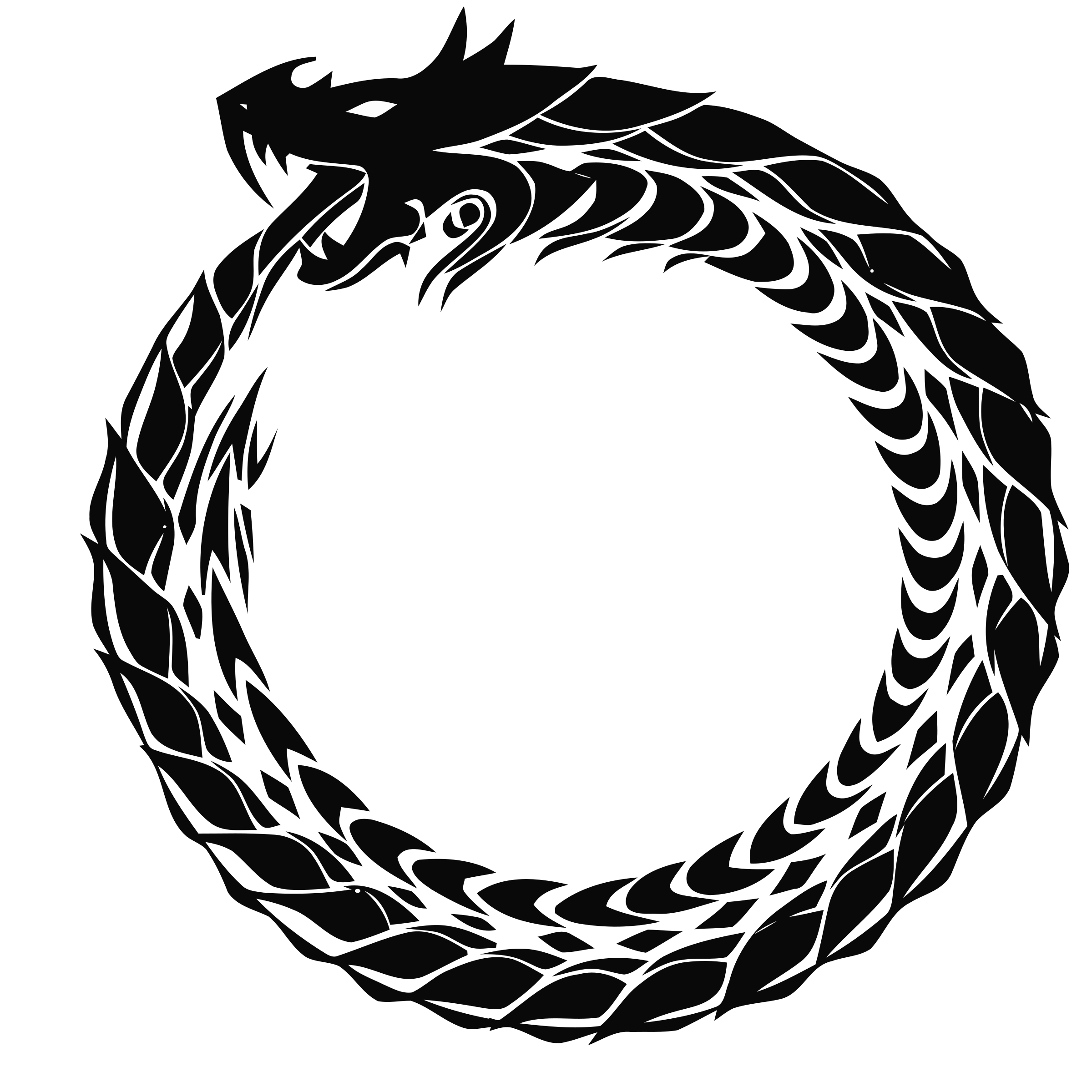 Nice Images Collection: Ouroboros Desktop Wallpapers