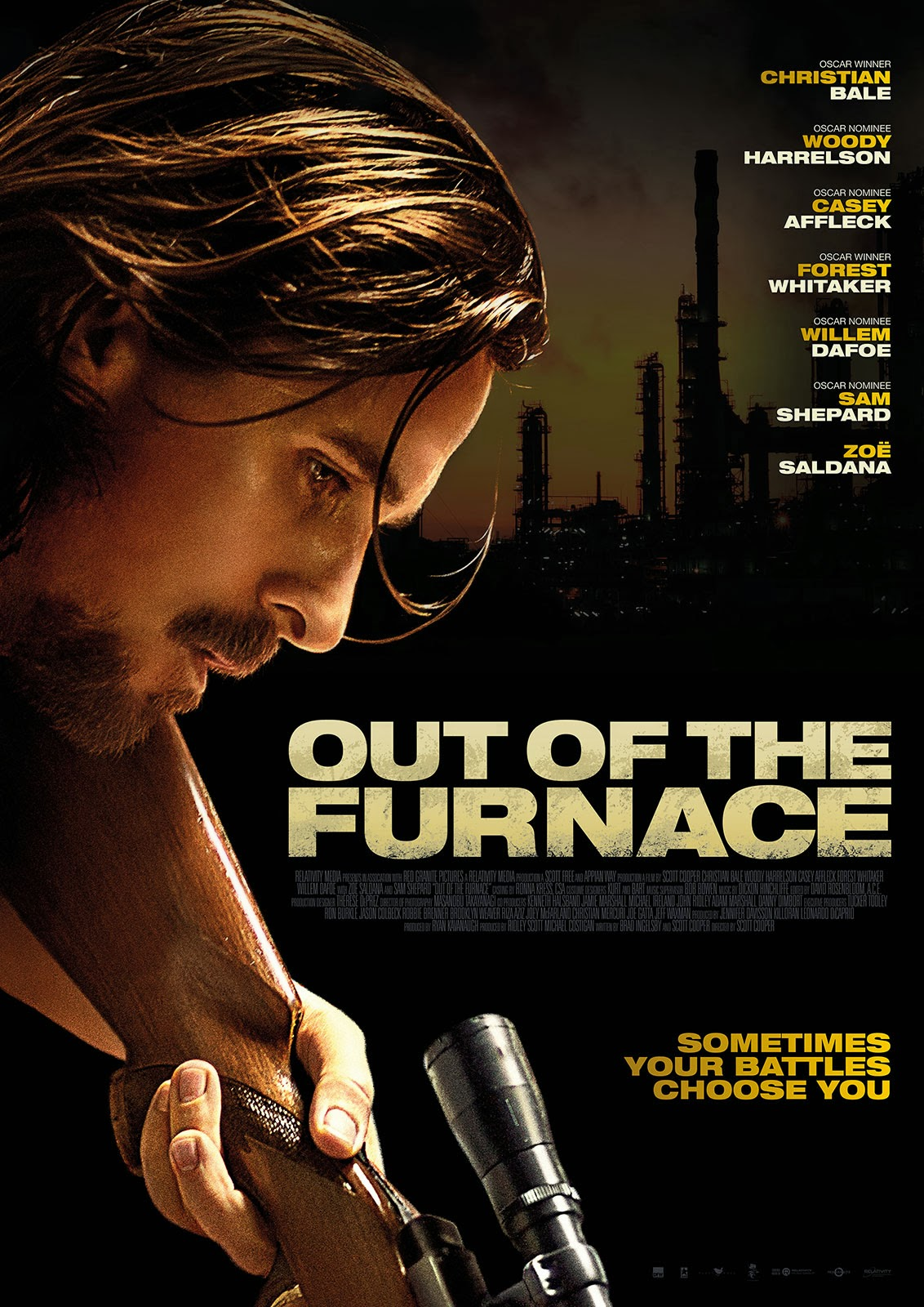 Nice Images Collection: Out Of The Furnace Desktop Wallpapers