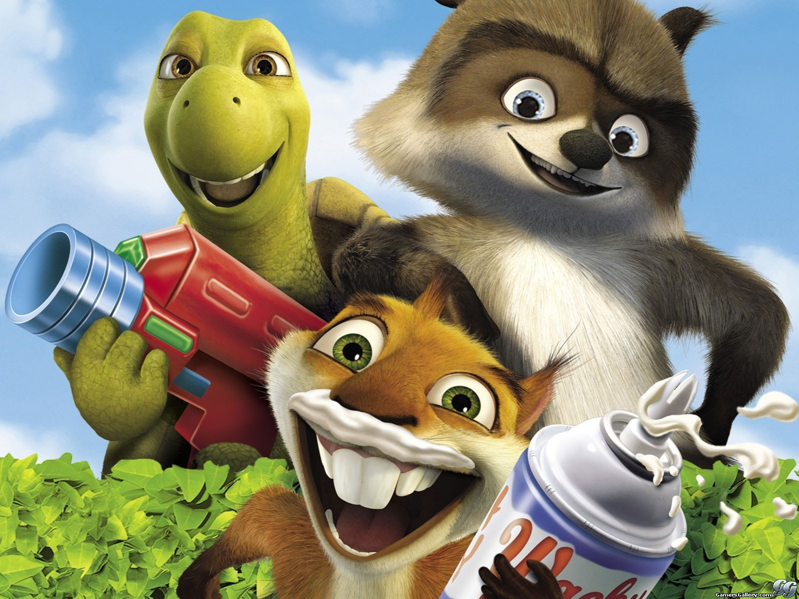 Over The Hedge Pics, Movie Collection