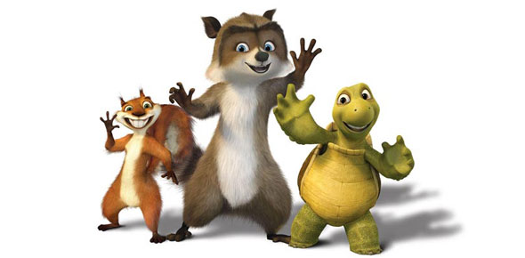 HD Quality Wallpaper   Collection: Movie, 590x290 Over The Hedge