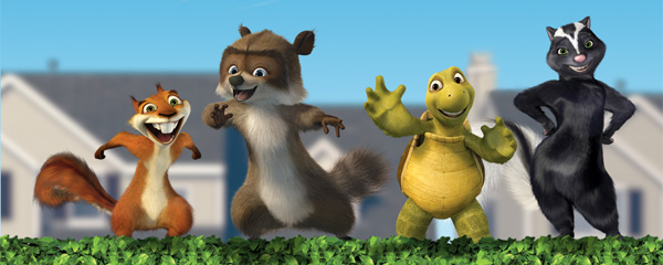 Nice wallpapers Over The Hedge 600x240px