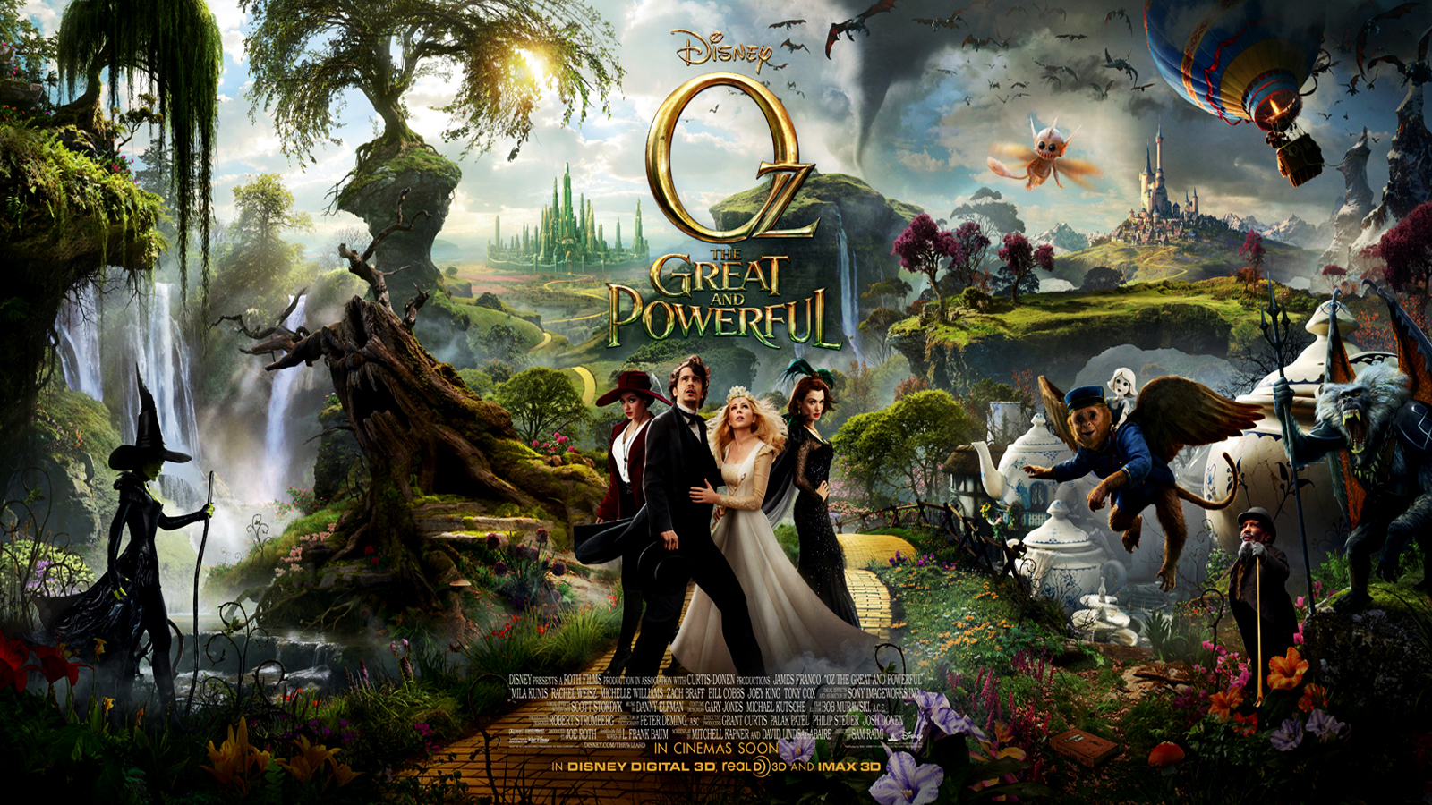 Oz The Great And Powerful Backgrounds on Wallpapers Vista