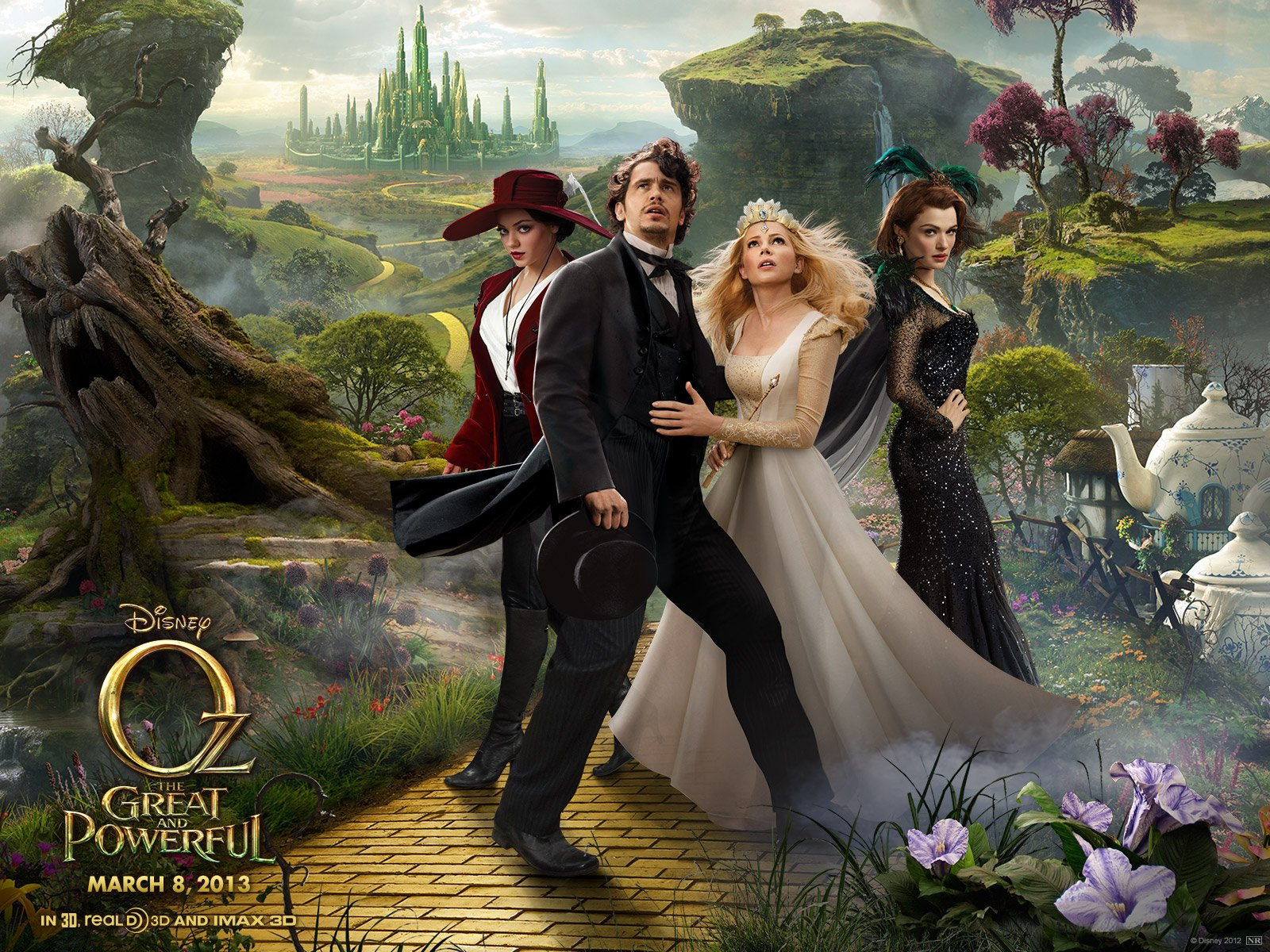 Amazing Oz The Great And Powerful Pictures & Backgrounds