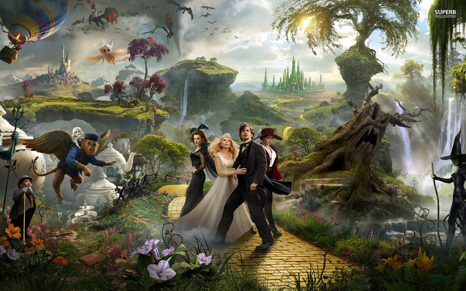 Oz The Great And Powerful Backgrounds, Compatible - PC, Mobile, Gadgets| 1920x1200 px