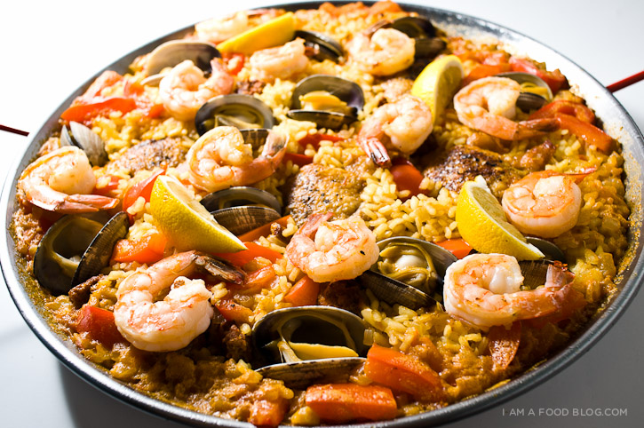 HD Quality Wallpaper | Collection: Food, 725x482 Paella