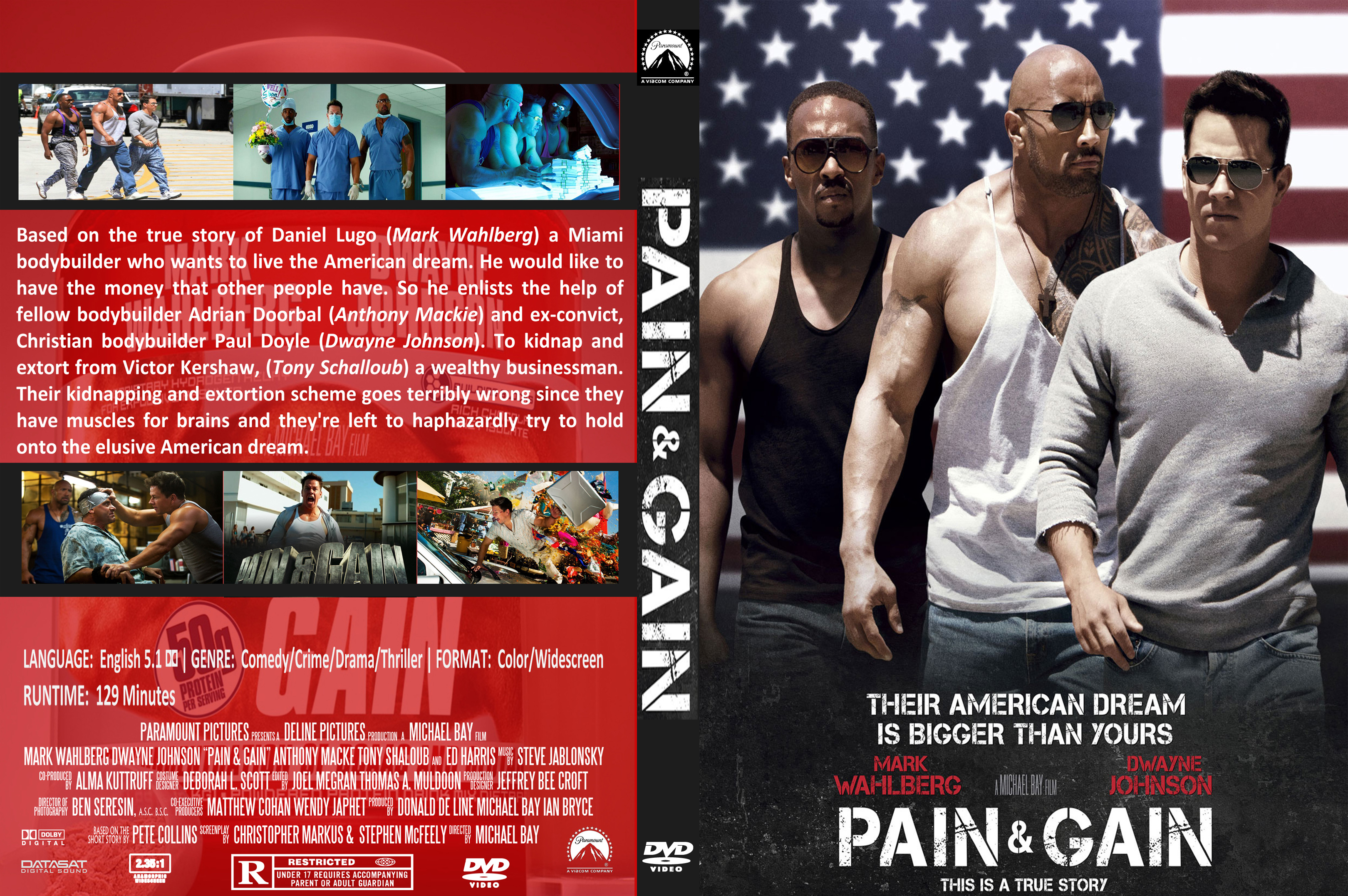 Pain & Gain Backgrounds on Wallpapers Vista
