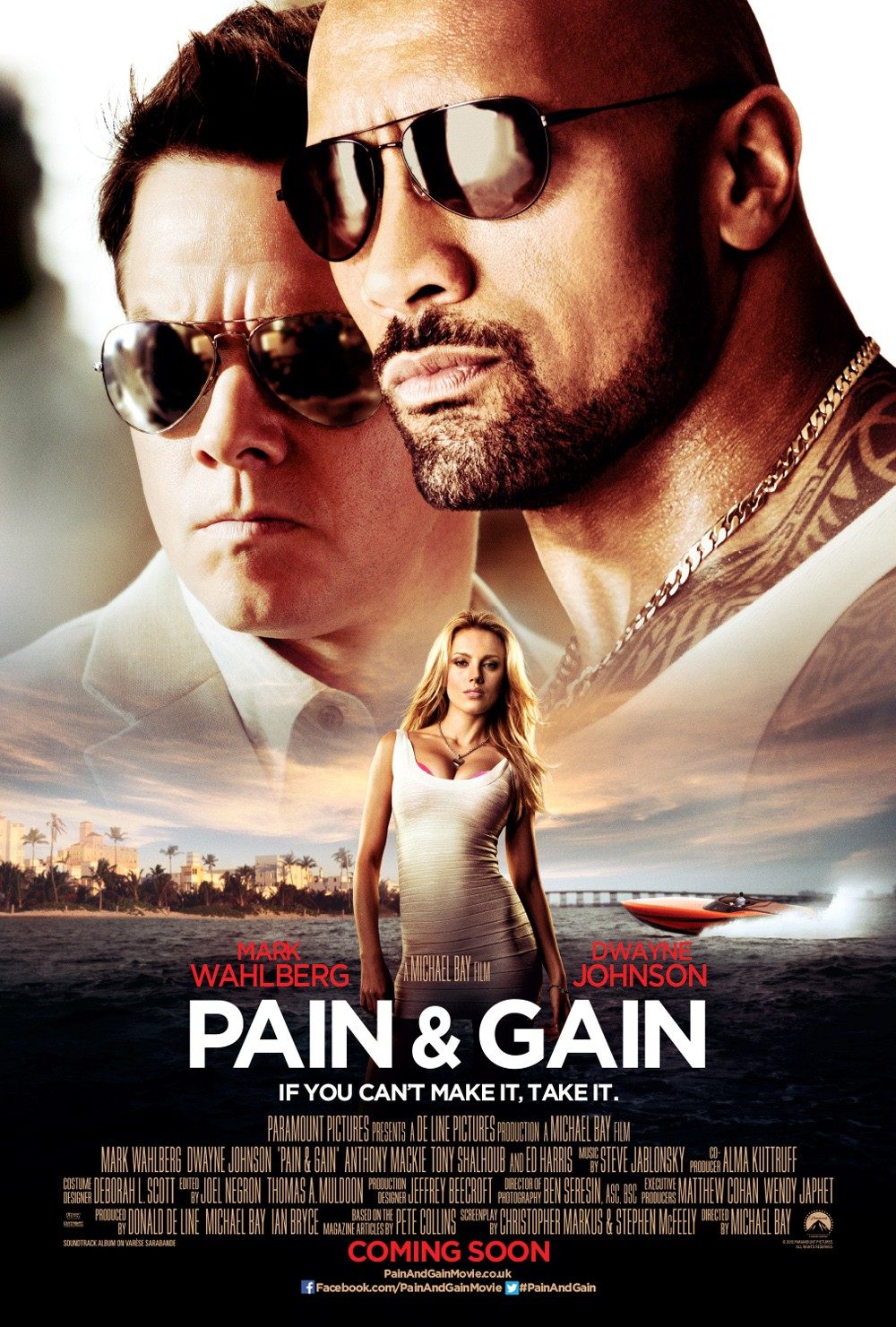 HD Quality Wallpaper | Collection: Movie, 1000x1481 Pain & Gain