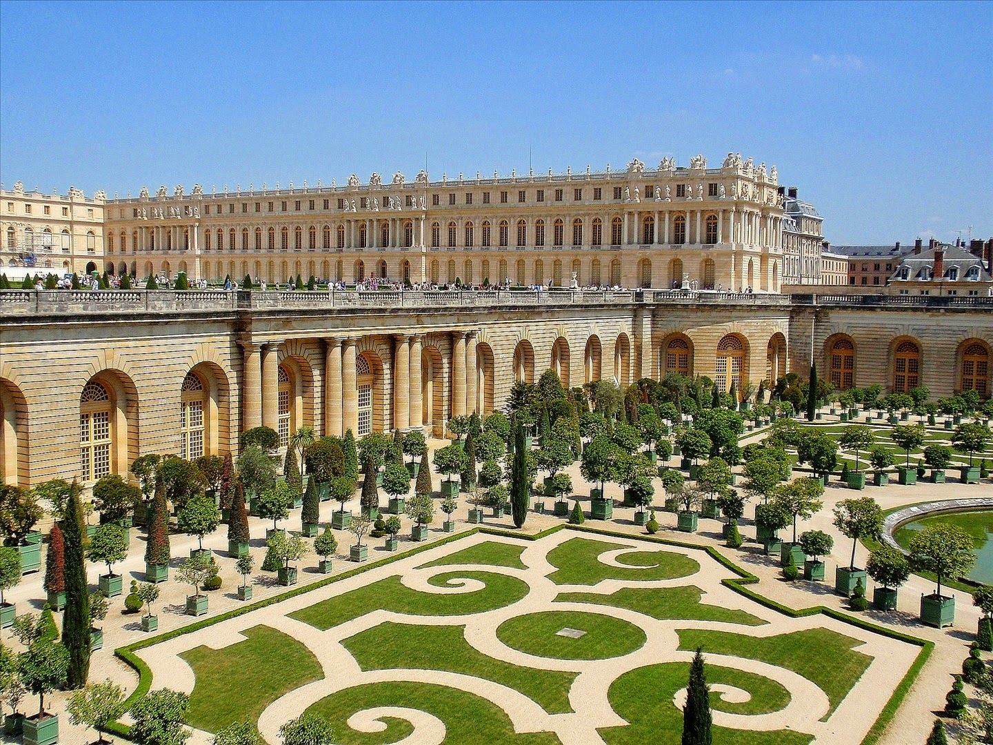 Palace Of Versailles Wallpapers Man Made Hq Palace Of Versailles Pictures 4k Wallpapers 2019