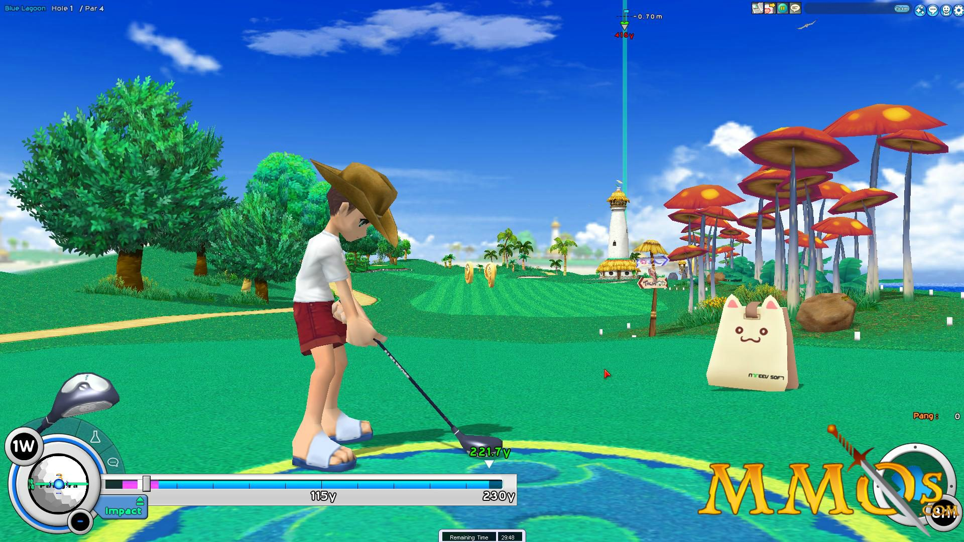 WII Pangya Golf - Juguetilandia