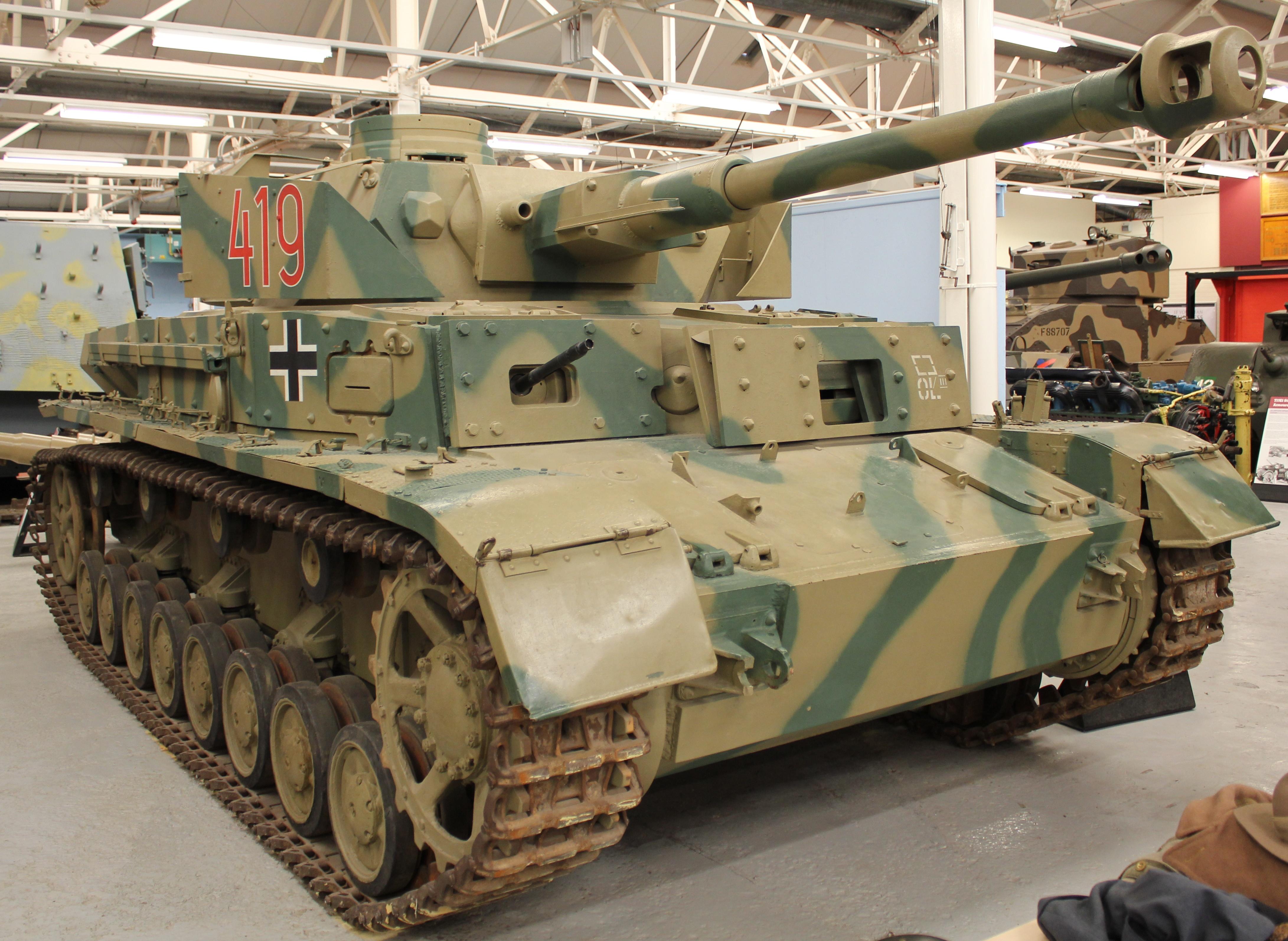 Panzerkampfwagen IV, designated T-4 in Romanian Army