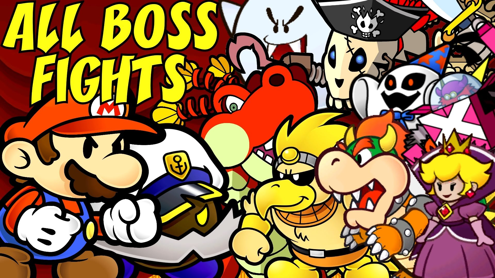 Most Viewed Paper Mario The Thousand Year Door Wallpapers 4k