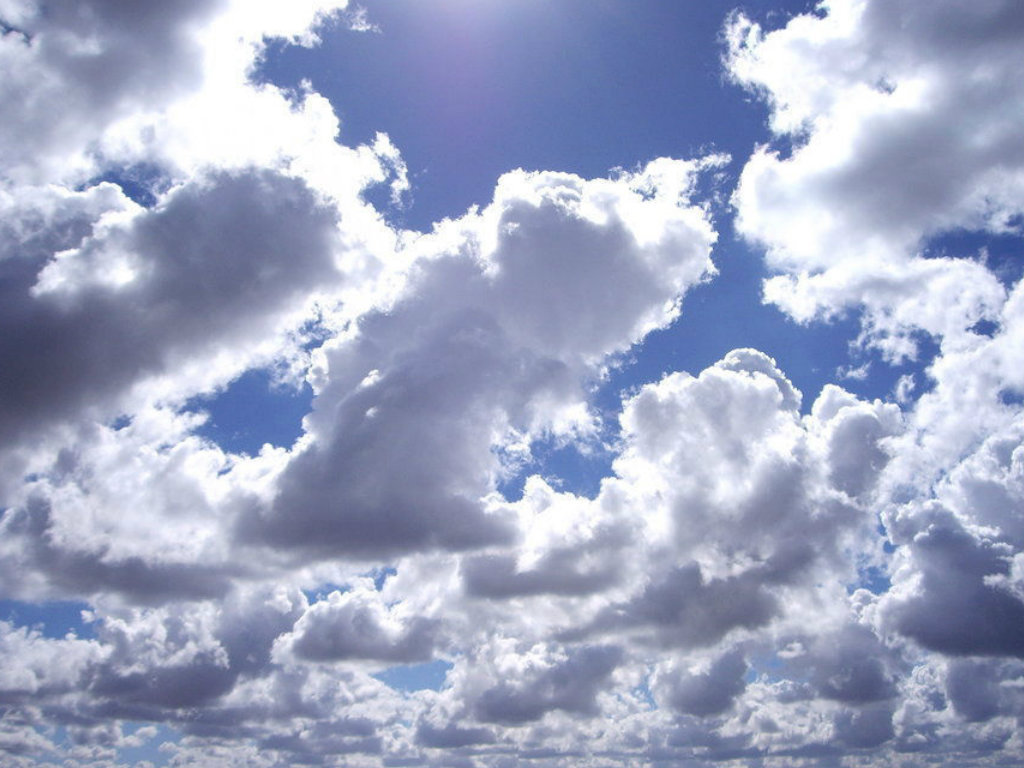 Partly Cloudy Backgrounds on Wallpapers Vista