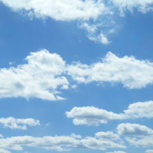 Nice Images Collection: Partly Cloudy Desktop Wallpapers