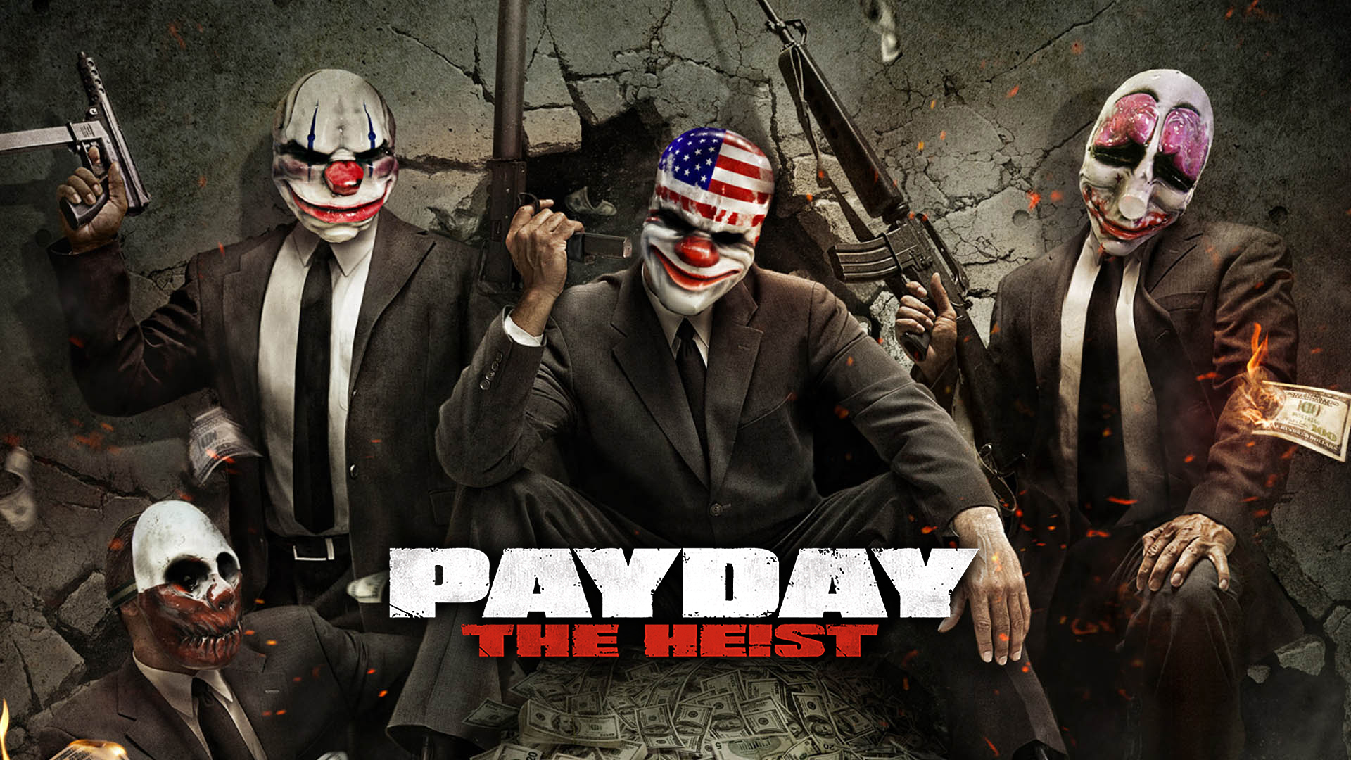 1920x1080 > Payday: The Heist Wallpapers