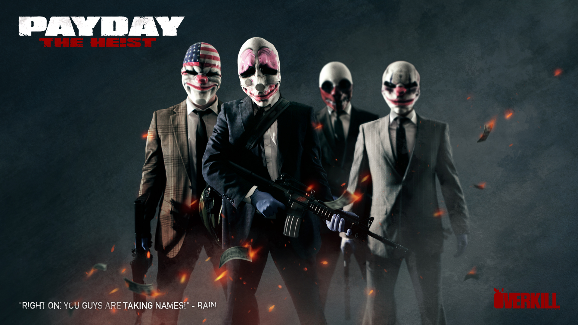 HD Quality Wallpaper | Collection: Video Game, 1920x1080 Payday: The Heist