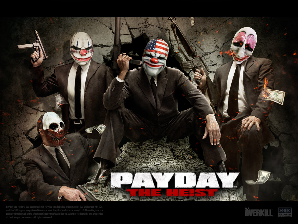 Payday: The Heist Backgrounds, Compatible - PC, Mobile, Gadgets| 1024x768 px