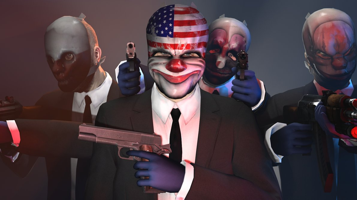 High Resolution Wallpaper   Payday: The Heist 1191x670 px