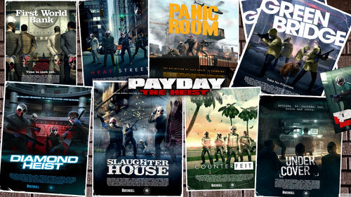 Nice Images Collection: Payday: The Heist Desktop Wallpapers