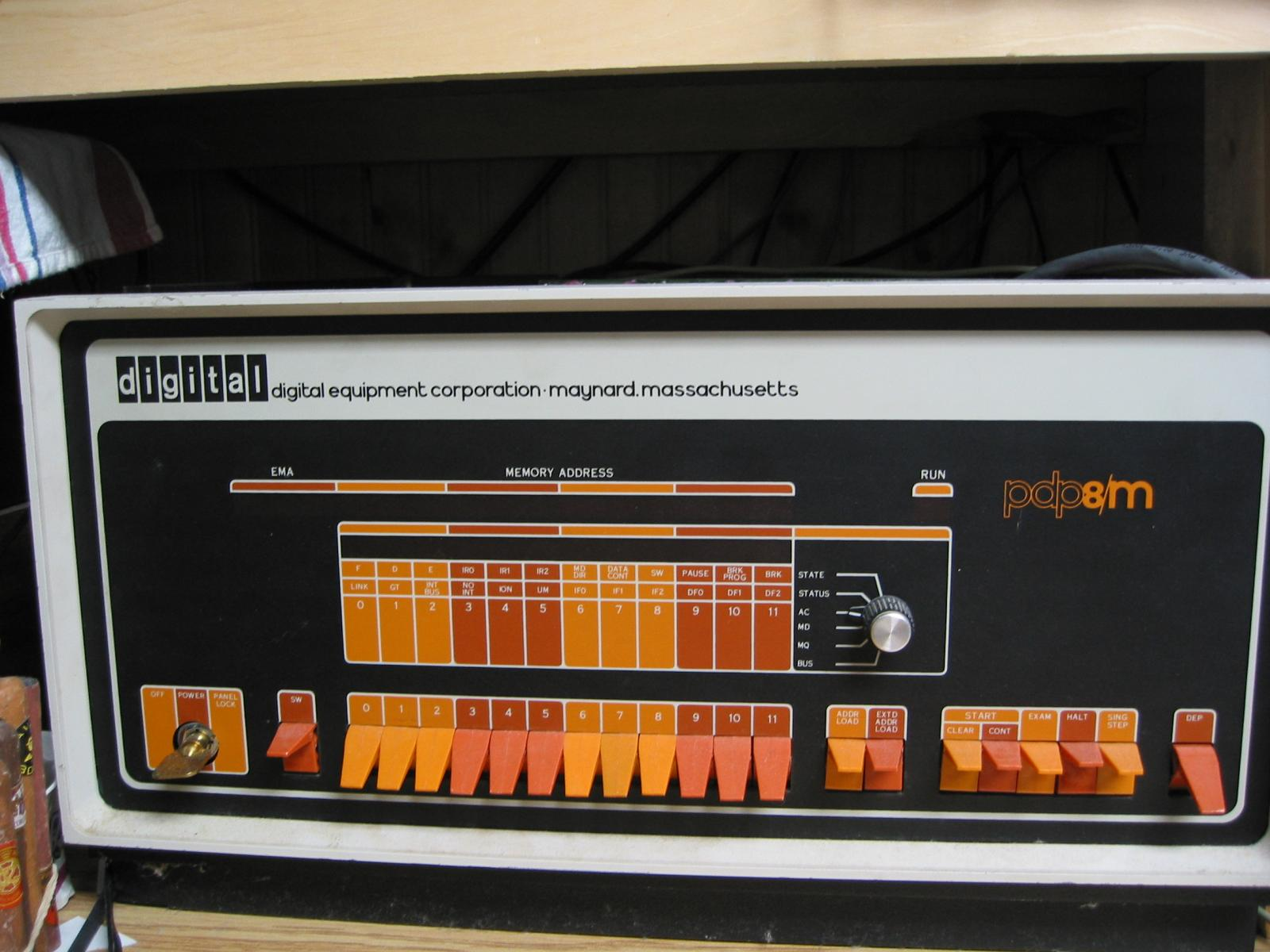 PDP-8 1 Pics, Technology Collection