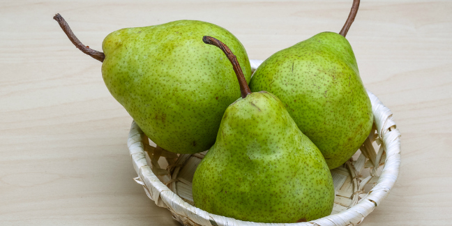 HD Quality Wallpaper | Collection: Food, 648x324 Pear