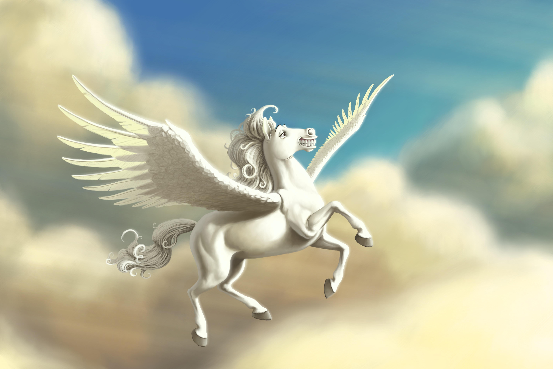 Nice wallpapers Pegasus 6000x4000px