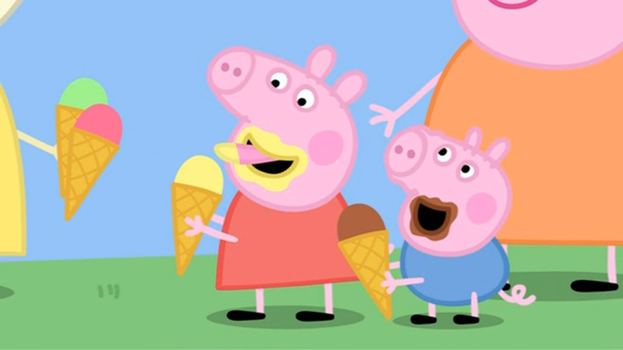 Nice Images Collection: Peppa Pig Desktop Wallpapers