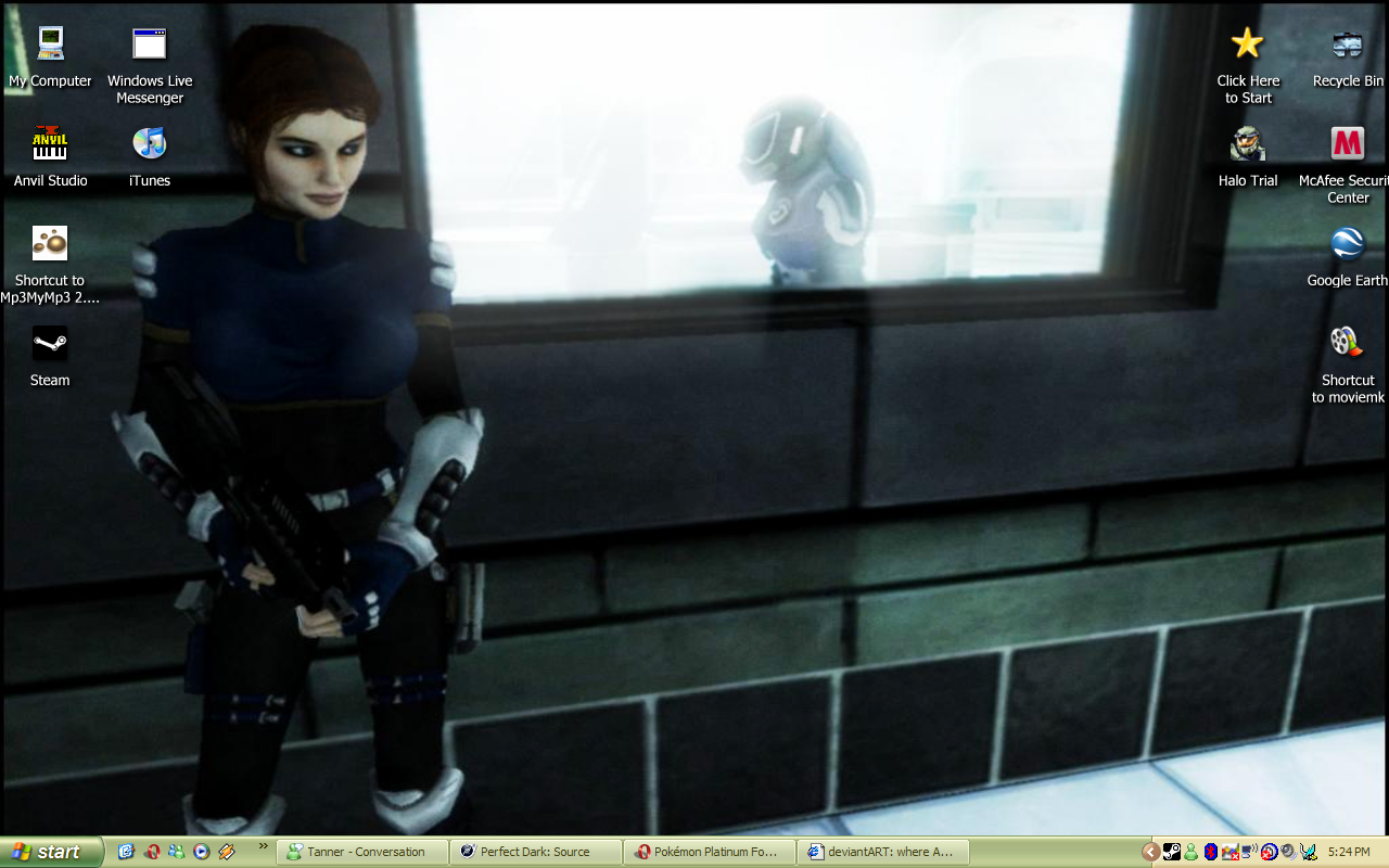 Nice wallpapers Perfect Dark: Source 1280x800px