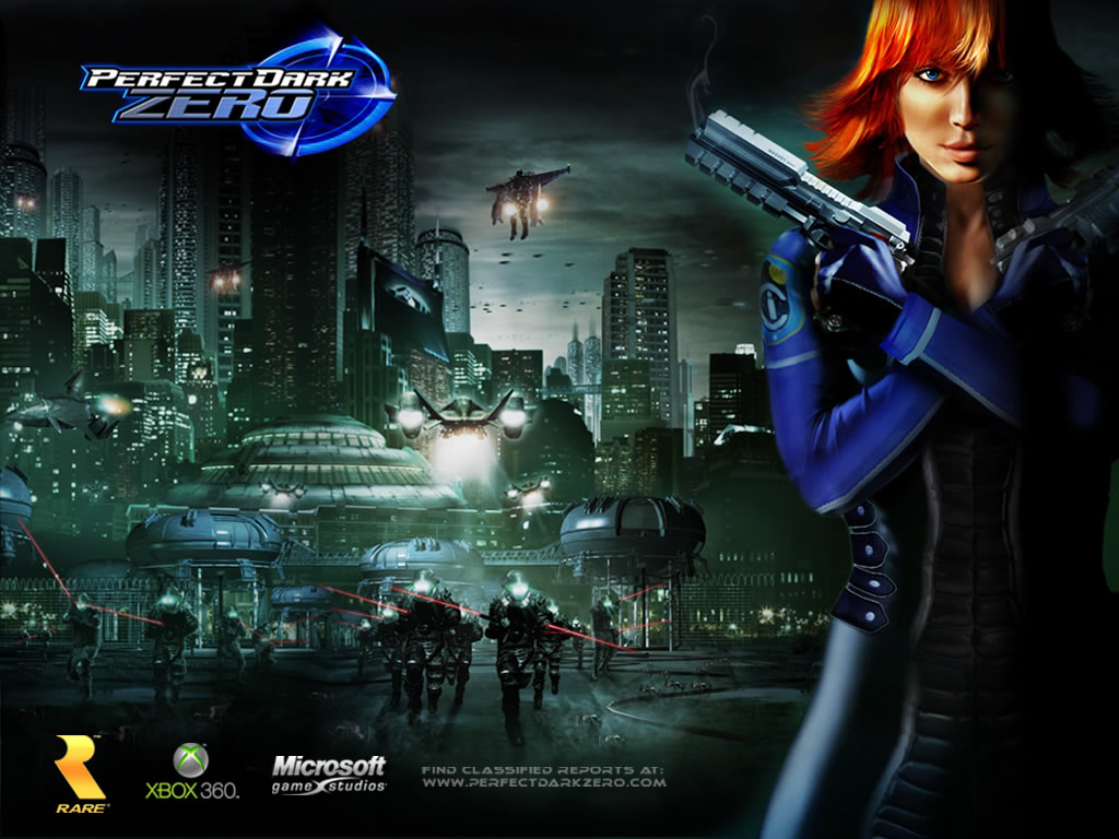 Nice wallpapers Perfect Dark Zero 1024x768px