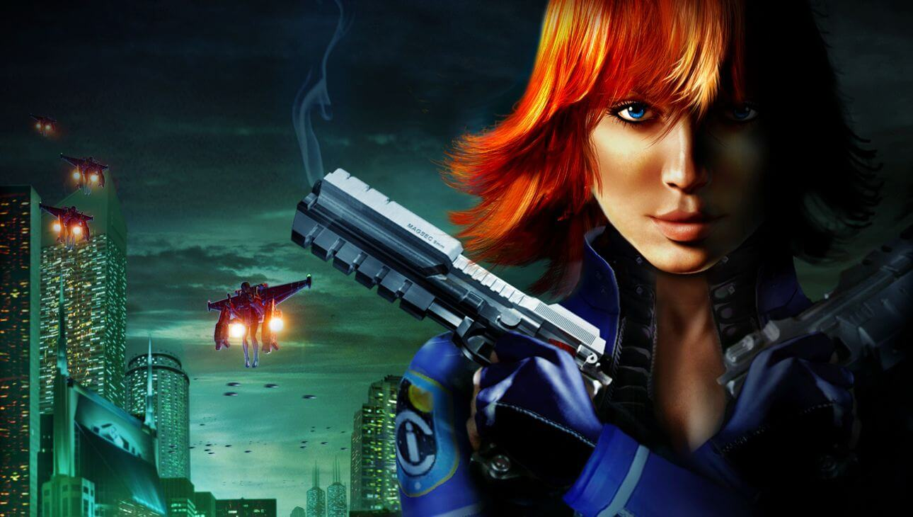 HD Quality Wallpaper | Collection: Video Game, 1290x730 Perfect Dark Zero
