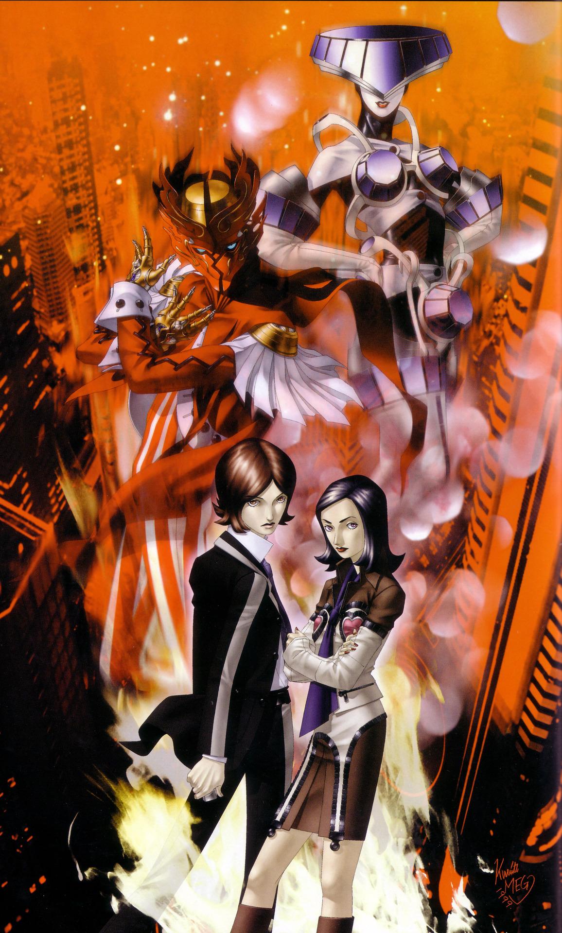 High Resolution Wallpaper | Persona 2: Eternal Punishment 1156x1920 px