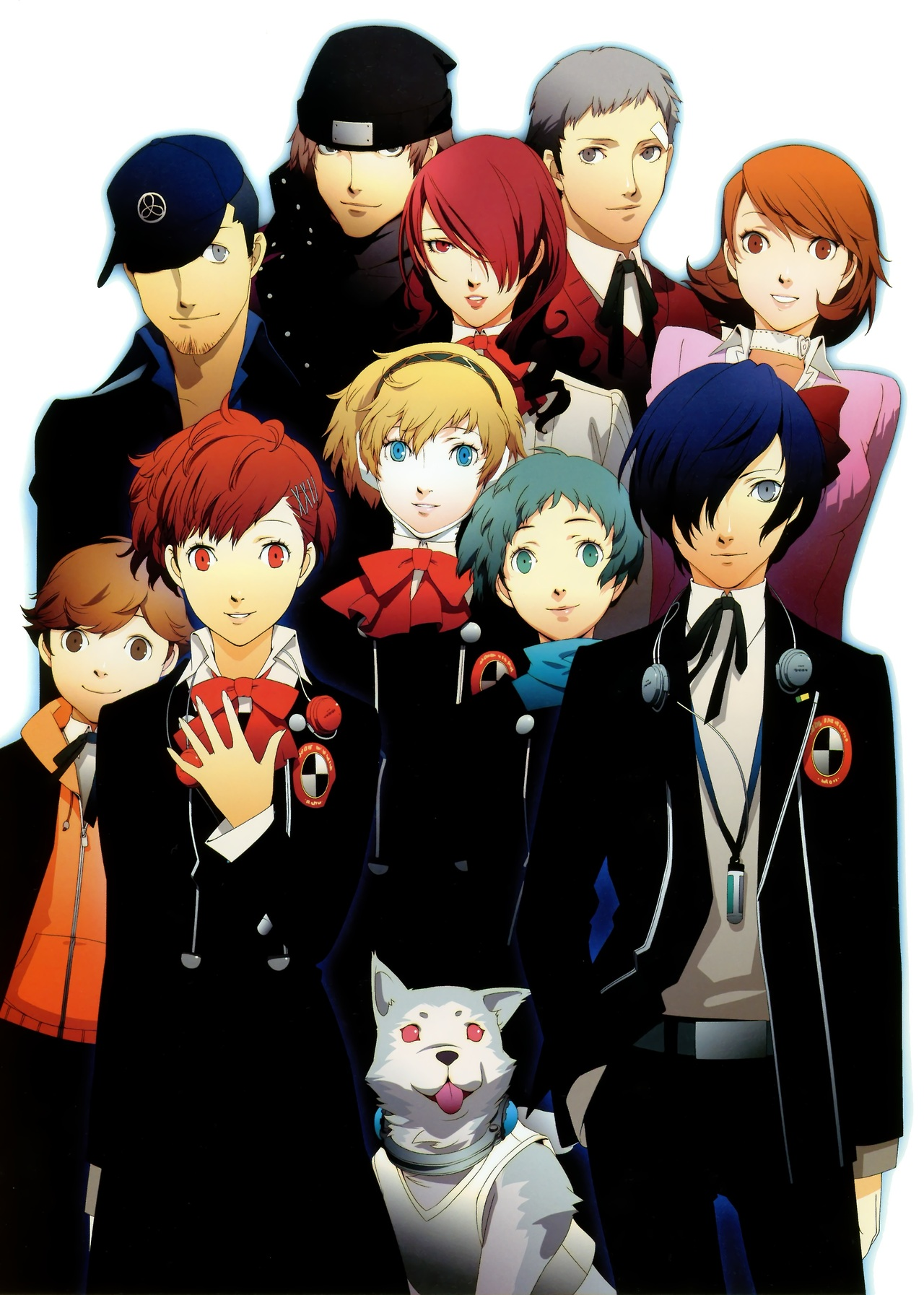 Nice wallpapers Persona 3 1280x1794px