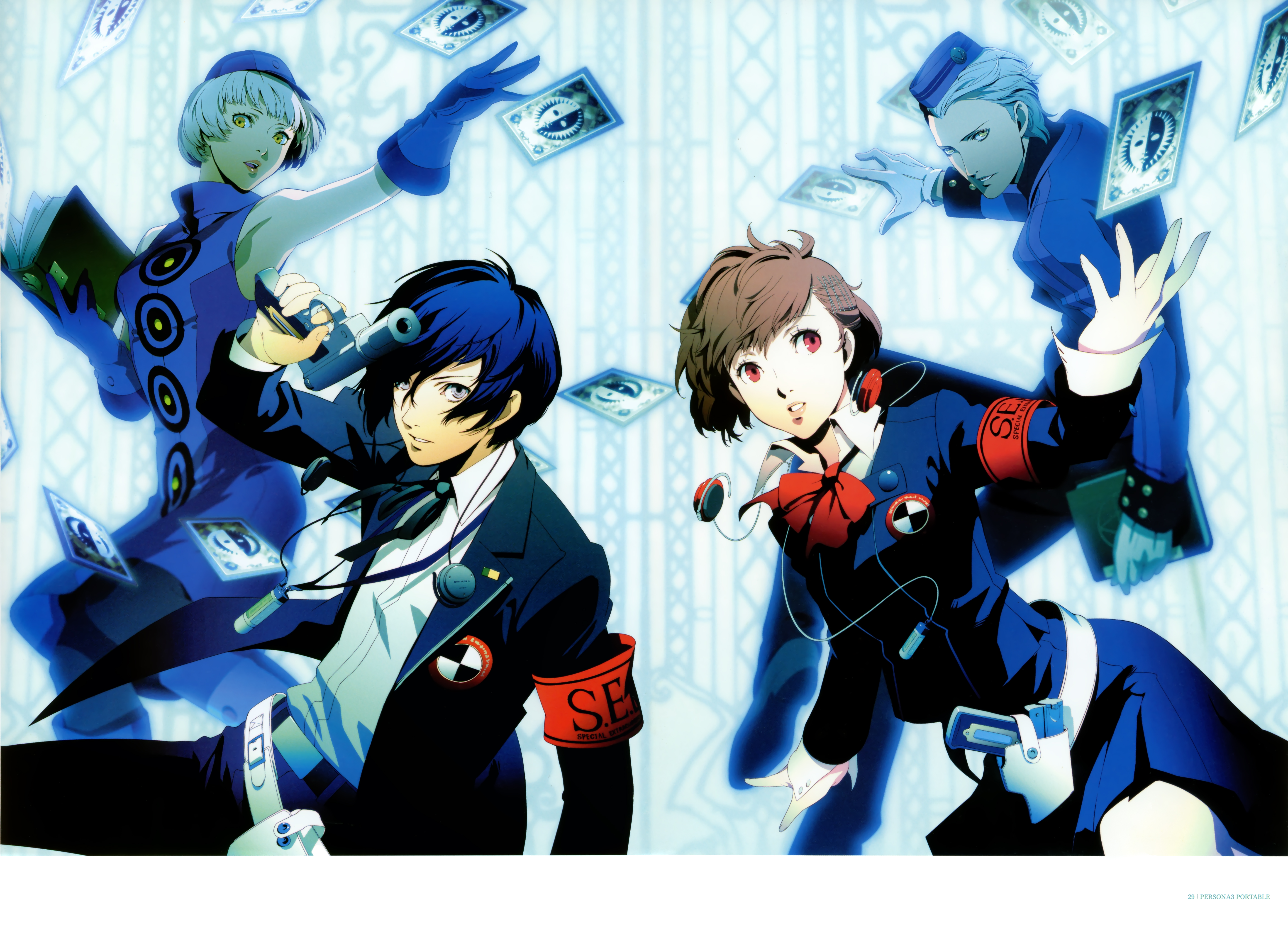Nice wallpapers Persona 3 5680x4084px