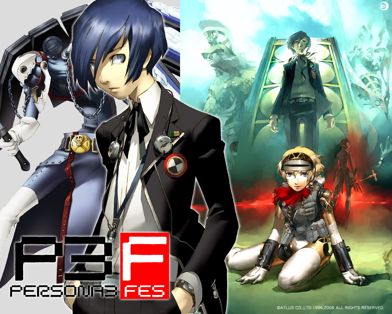 Persona 3 Backgrounds on Wallpapers Vista