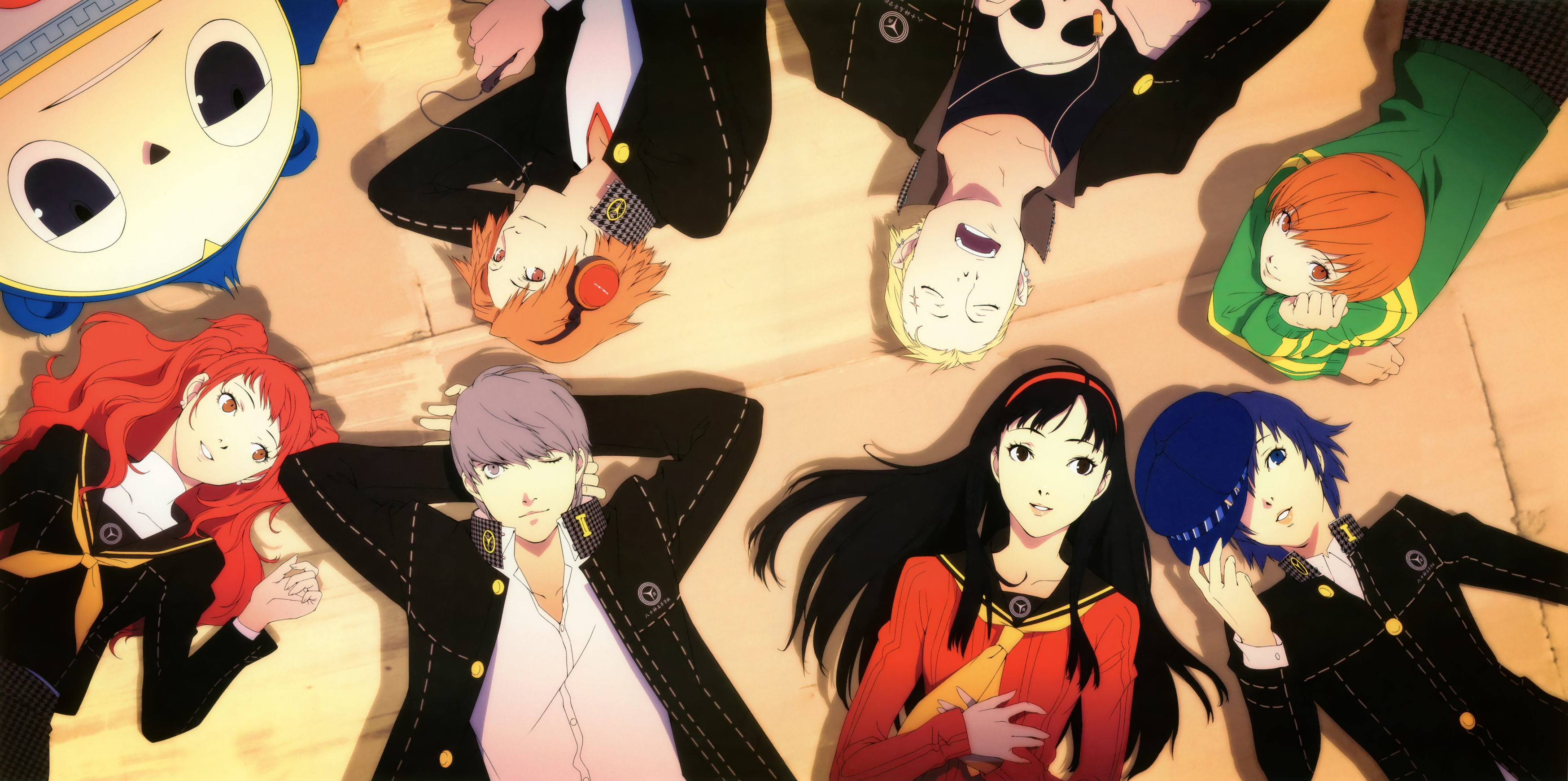 Nice wallpapers Persona 4 3495x1741px