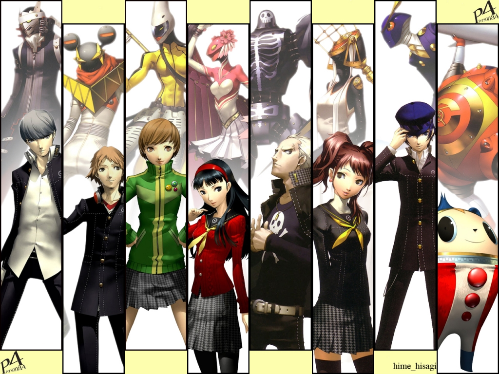 Nice wallpapers Persona 4 1024x768px