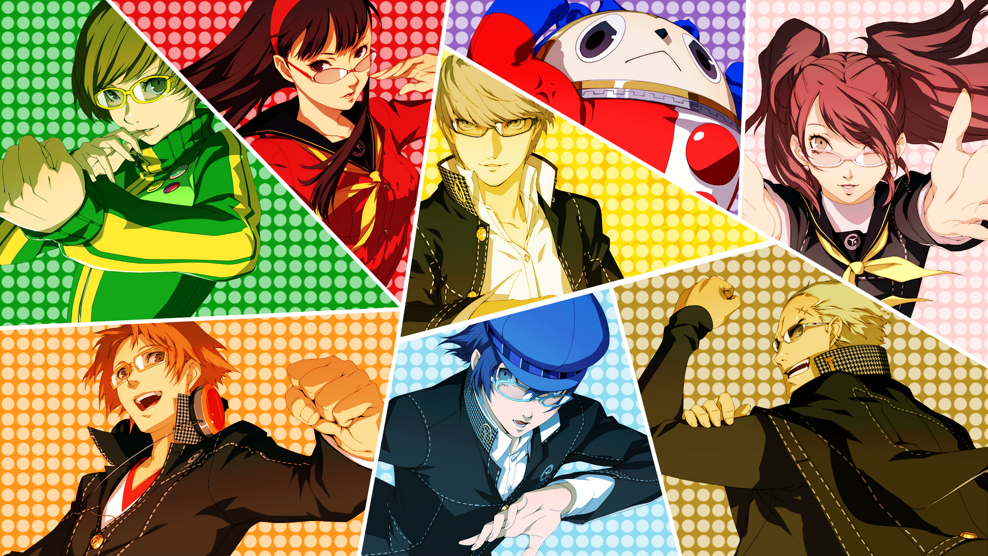 HD Quality Wallpaper | Collection: Video Game, 1920x1080 Persona 4 Golden