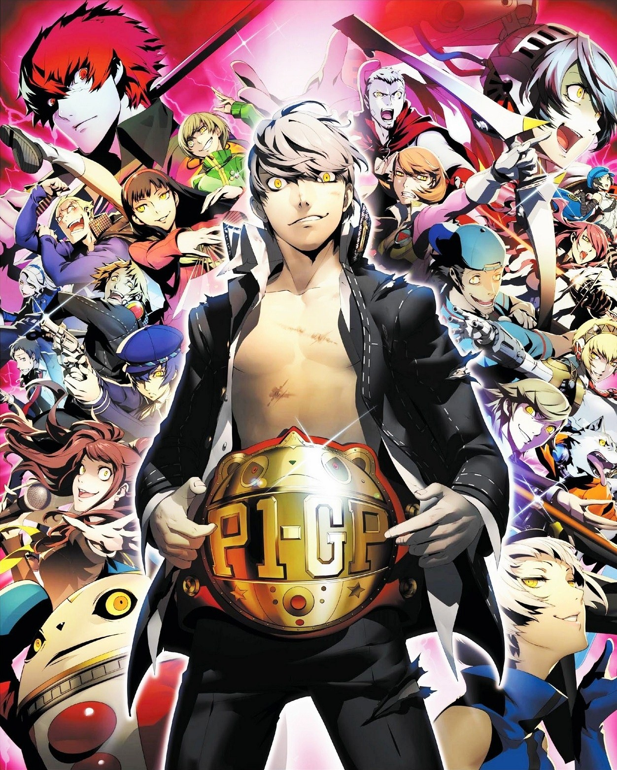 HD Quality Wallpaper | Collection: Video Game, 1252x1561 Persona 4: Arena