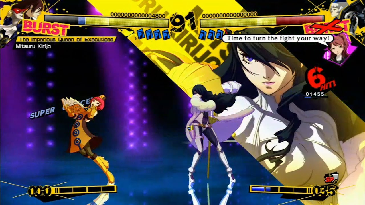 Nice Images Collection: Persona 4: Arena Desktop Wallpapers