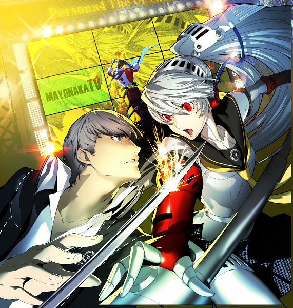 Nice wallpapers Persona 4: Arena 571x600px