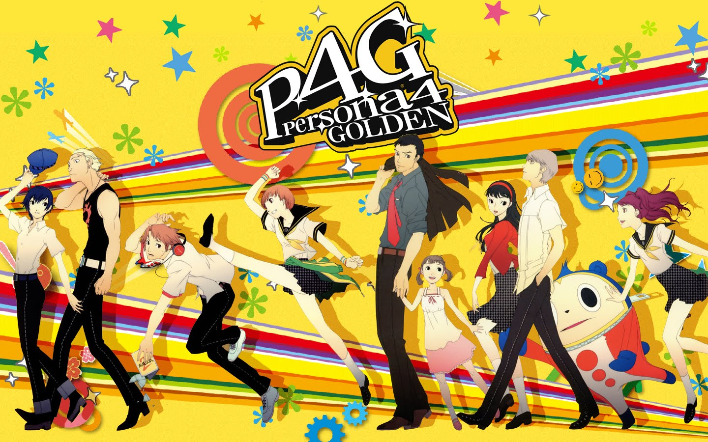 HD Quality Wallpaper | Collection: Video Game, 1440x900 Persona 4 Golden