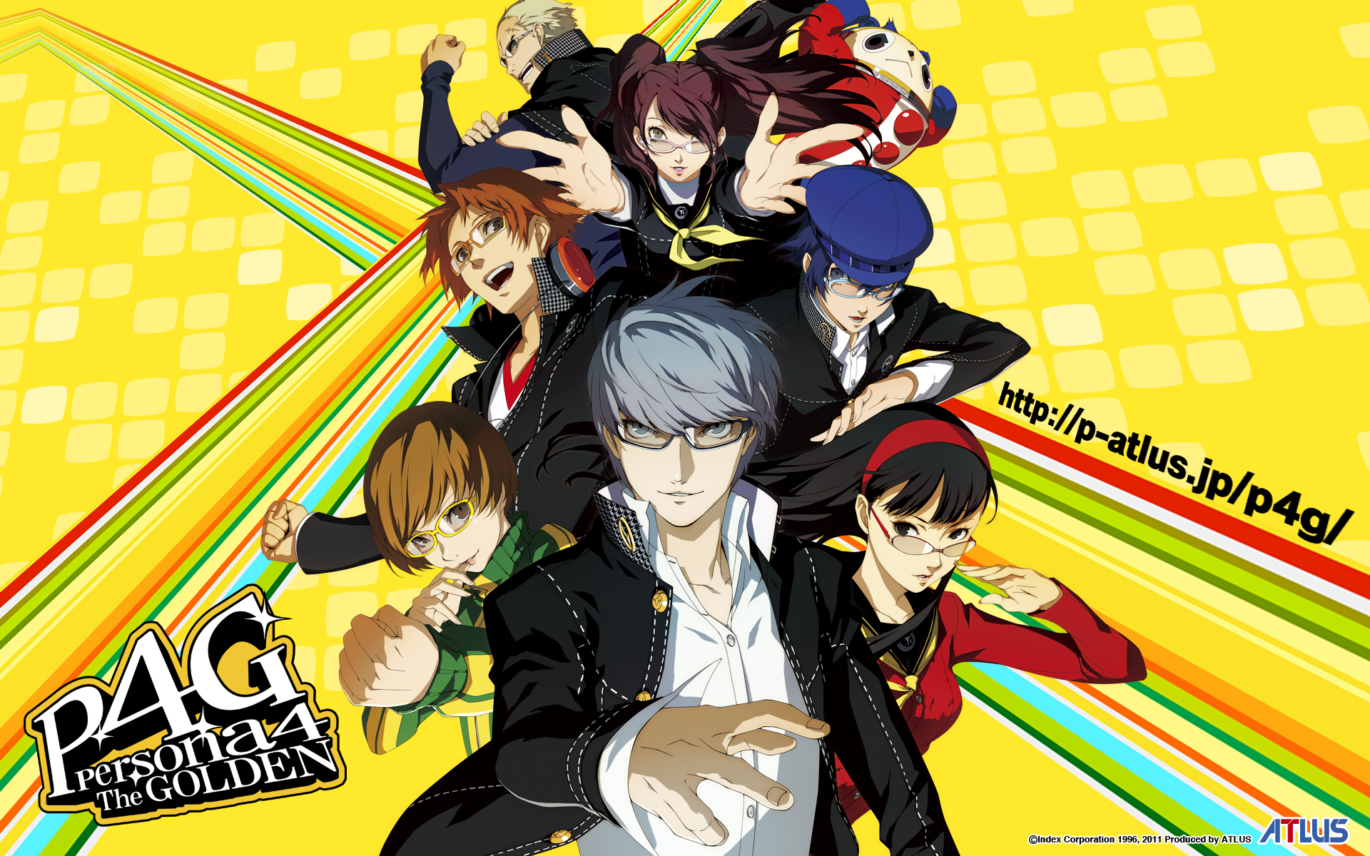 Nice Images Collection: Persona 4 Golden Desktop Wallpapers