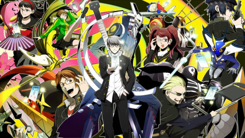 Persona 4 Pics, Video Game Collection