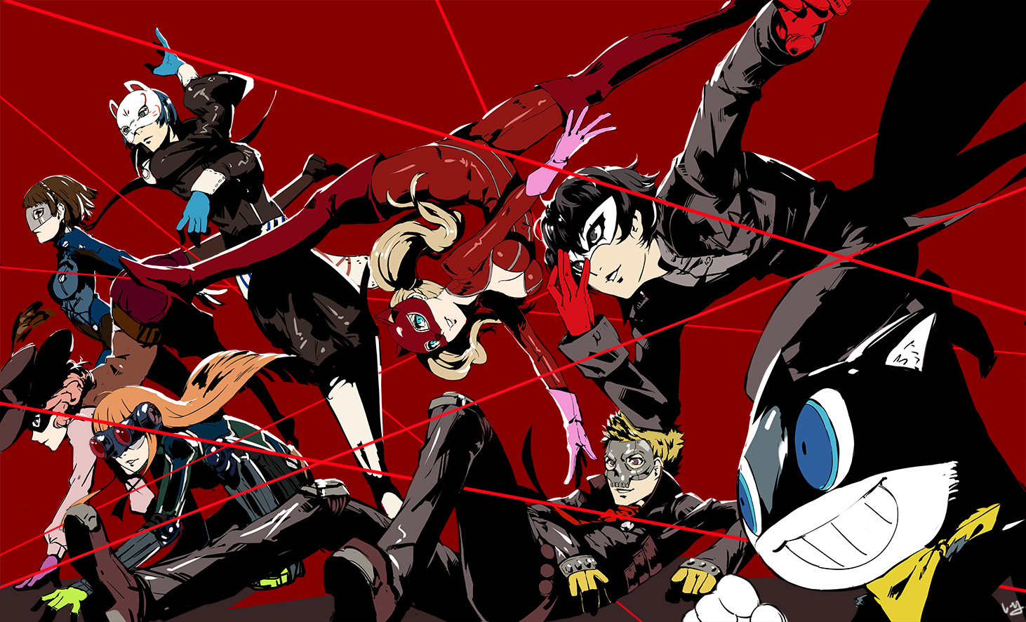 1462x886 > Persona 5 Wallpapers