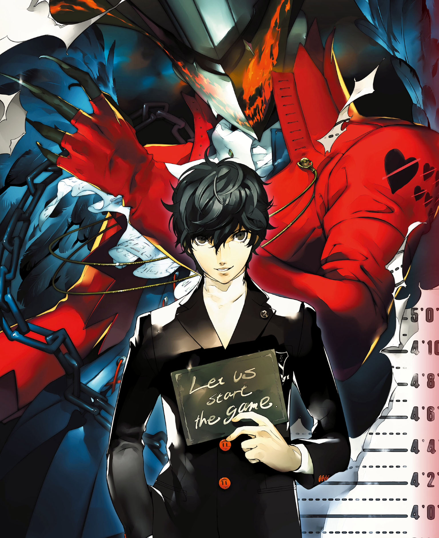 Nice wallpapers Persona 5 1536x1884px