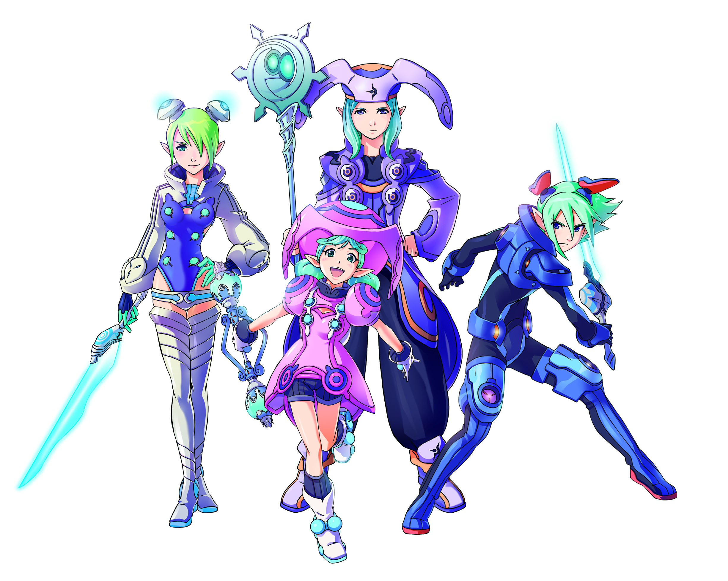 Phantasy Star Backgrounds on Wallpapers Vista