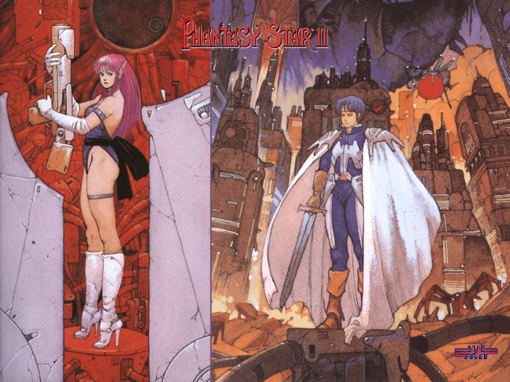 Nice Images Collection: Phantasy Star II Desktop Wallpapers