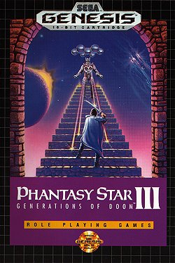 Images of Phantasy Star III: Generations Of Doom | 250x374