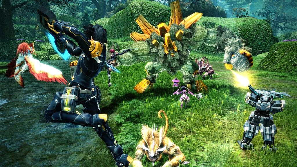 Nice Images Collection: Phantasy Star Online 2 Desktop Wallpapers