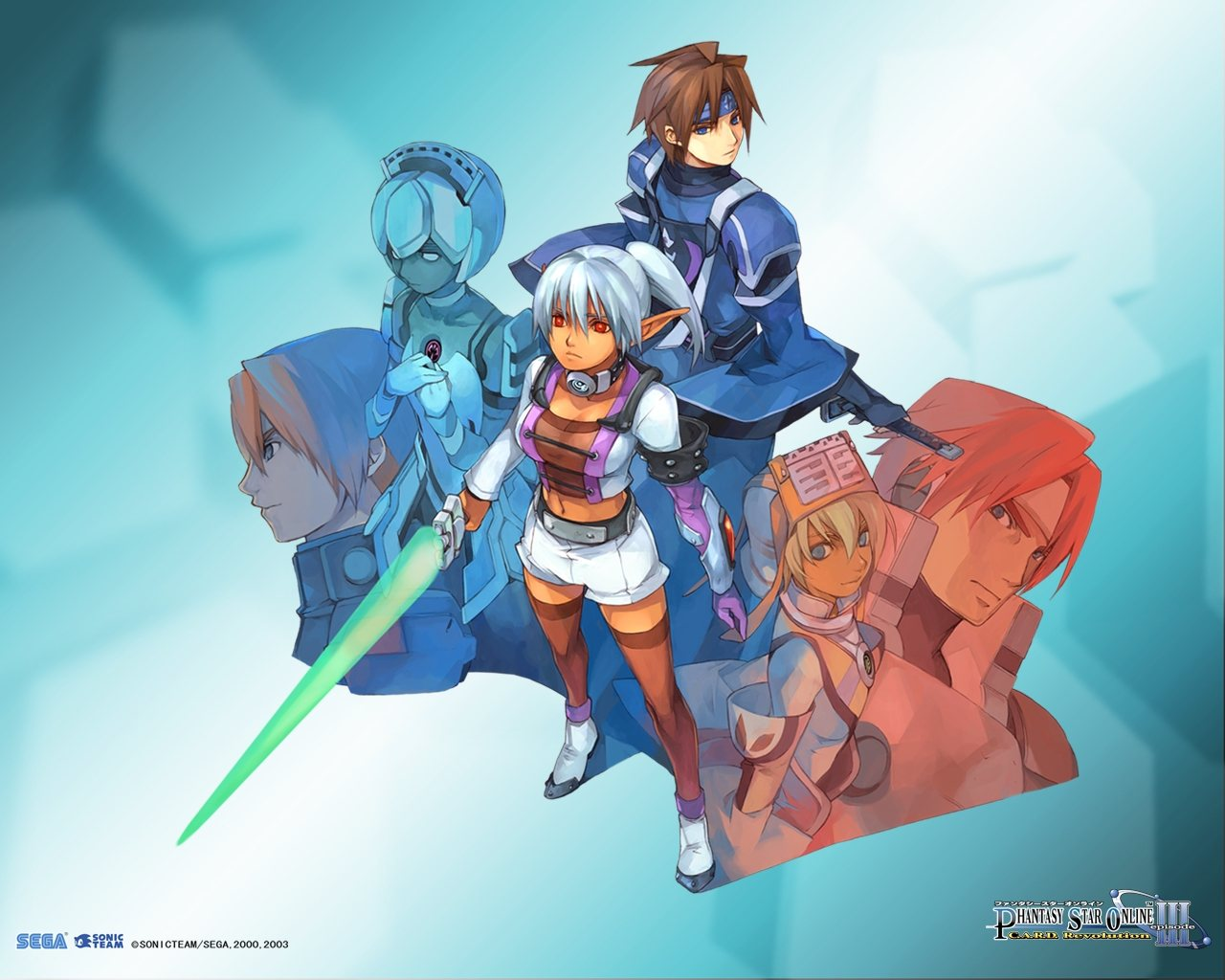 Phantasy Star Online Pics, Video Game Collection