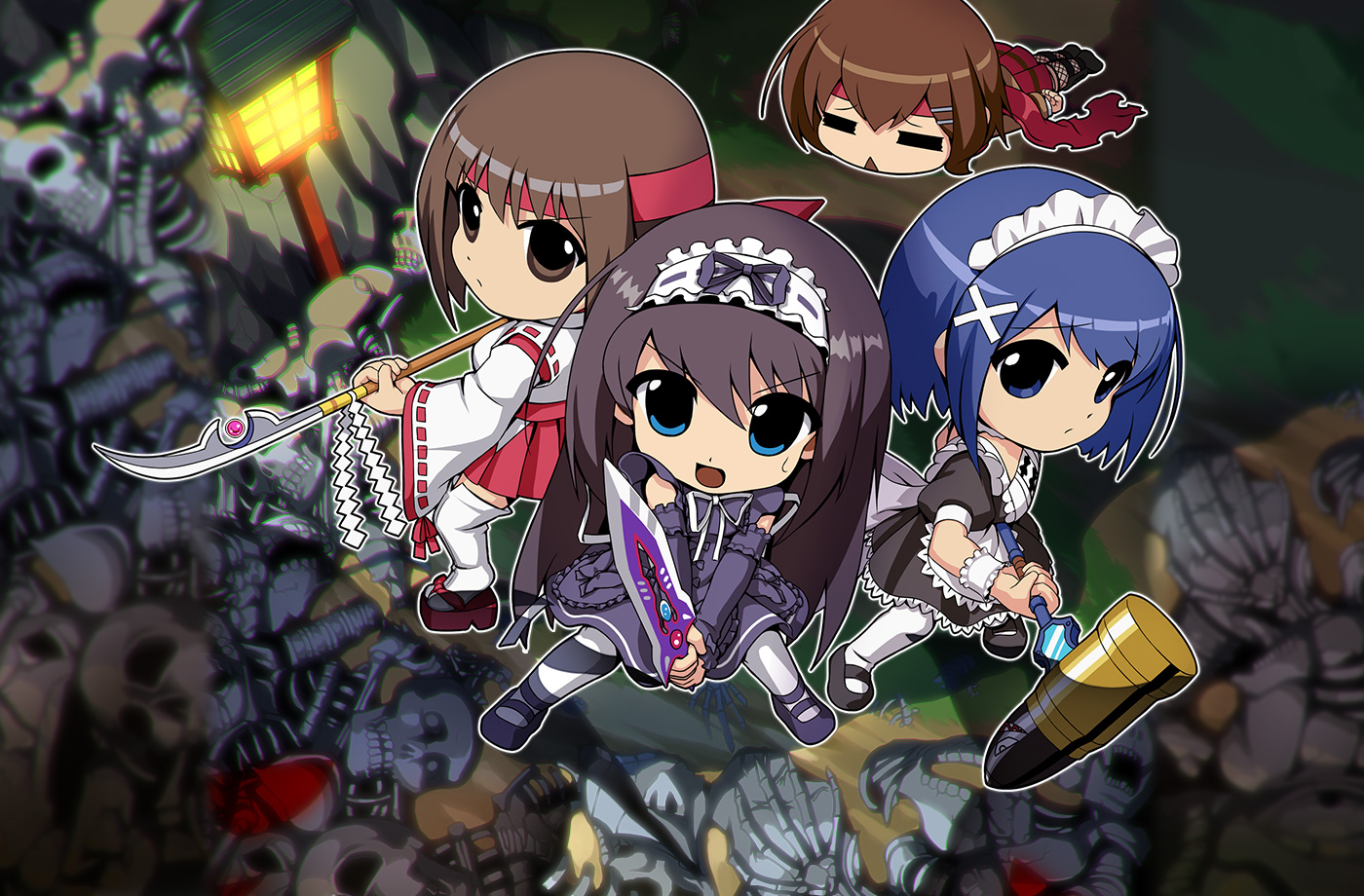 HD Quality Wallpaper | Collection: Video Game, 1400x920 Phantom Breaker: Battle Grounds